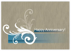 Pleasantly Blue Anniversary