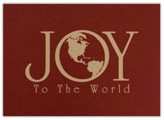 World Full of Joy Card