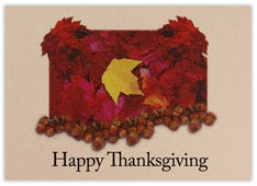Autumnal Thanksgiving Card