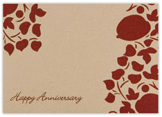 Simplistic Blooms Anniversary