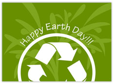 Happy Earth Day Recycle
