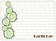 Earth Day 2010 Recycled Card