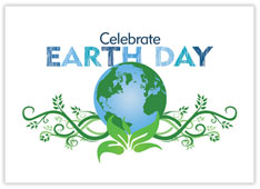 Celebrate Earth Day Recycled