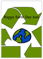 Recycle Symbol Earth Day