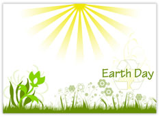 Nature Recycled Earth Day