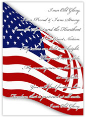 Freedom Flag Card