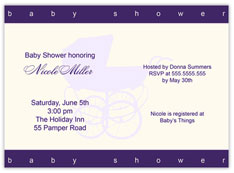 Double Bordered Invitation