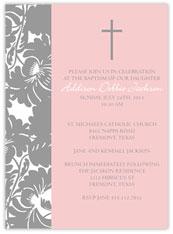 Floral Pattern Baptism