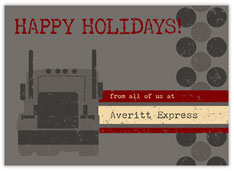 Trucking Company Holiday Card