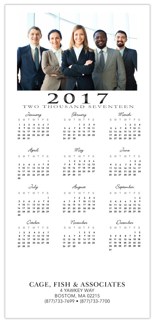 Add Your Own Photo Calendar Card - Custom Greeting Cards from CardsDirect
