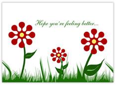 Growing Flowers Get Well