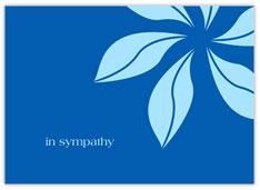 Blue Pinwheel Sympathy