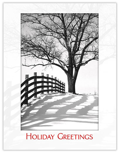 Winter Road Holiday - Winter Scenes from CardsDirect