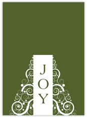 Joy in Green Holiday