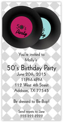 50's Birthday Party