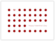 Dots of Love Valentines