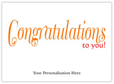Simply Congratulations Card