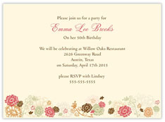 Style with Colors Invitation