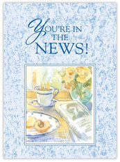 You're in the News! Congratulations Card