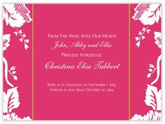 Pink Elegant Filigree