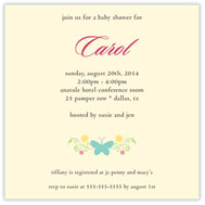 Solo Butterfly Baby Shower