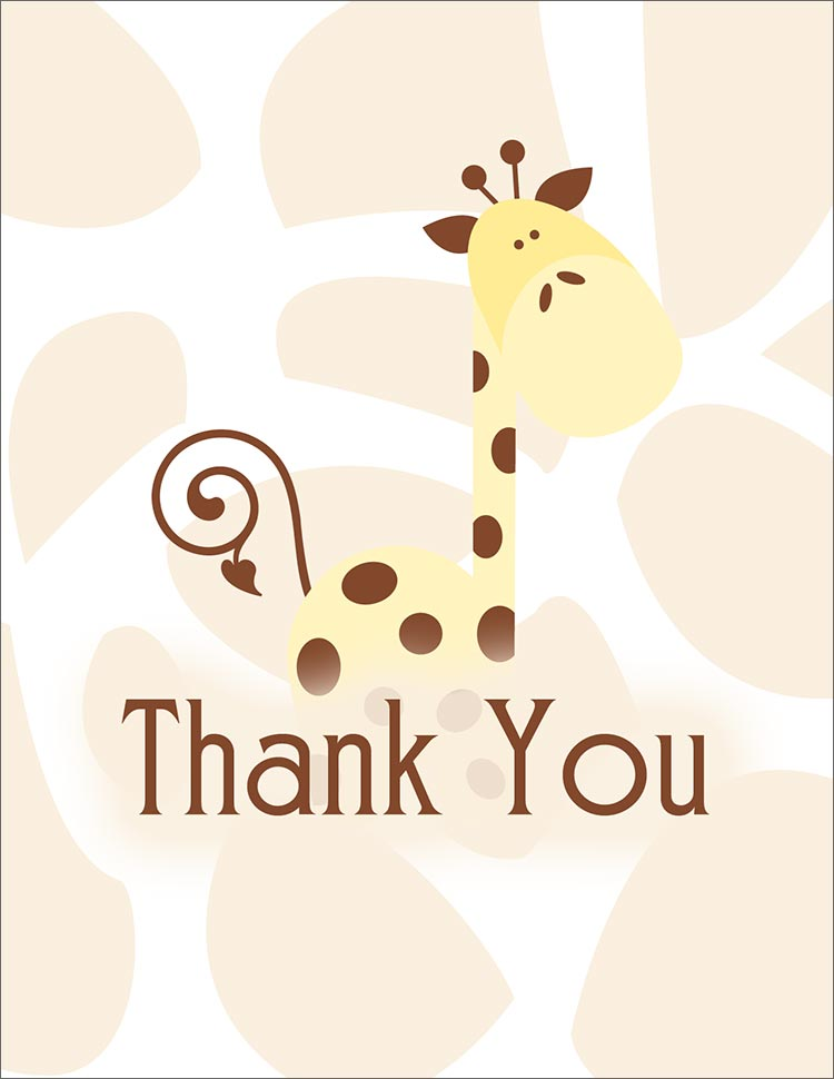 Cute thank you