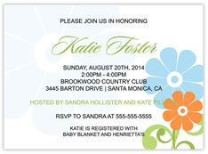 Mixed Daisies Invite