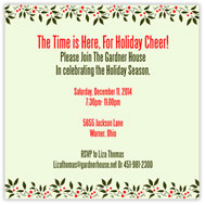 Hollyday Square Invitation