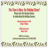 Hollyday Square Invitation
