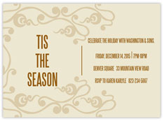 Sandy Filigree Invitations