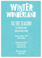 Winter Wonderland Invite