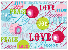 Peace Love Joy Greetings