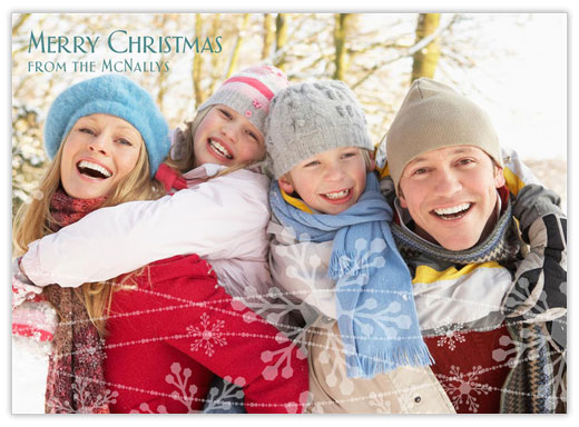 Let It Snow Photo - Photo Christmas Cards from CardsDirect