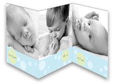Baby Blue Tri-Fold