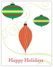 Happy Holiday Ornaments
