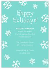 Simple Snowflake Invite
