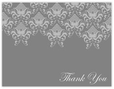 Victorian Gray Thank You