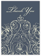 Lovely Ornate Thank You
