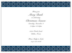 Navy Elegant Corporate Holiday