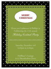 Jolly Joy Holiday Invitation