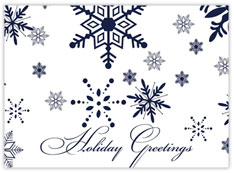 Winter Snowflake Greetings
