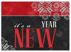 It's a New Year Card