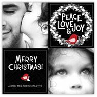 Wreaths of Peace Photo Card