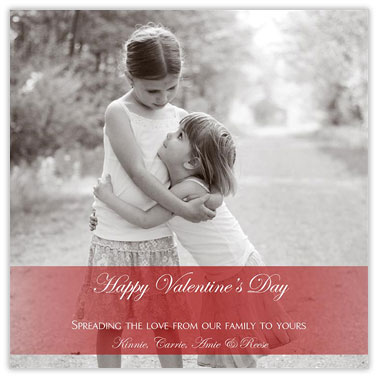 A Simple Valentine - Valentines Day Cards from CardsDirect