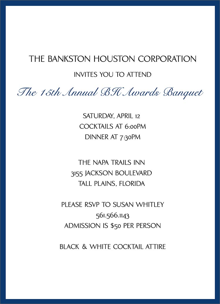 Inauguration Invitation Letter Format with beautiful invitations example