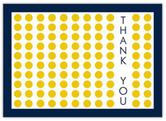 Yellow Dots of Thanks