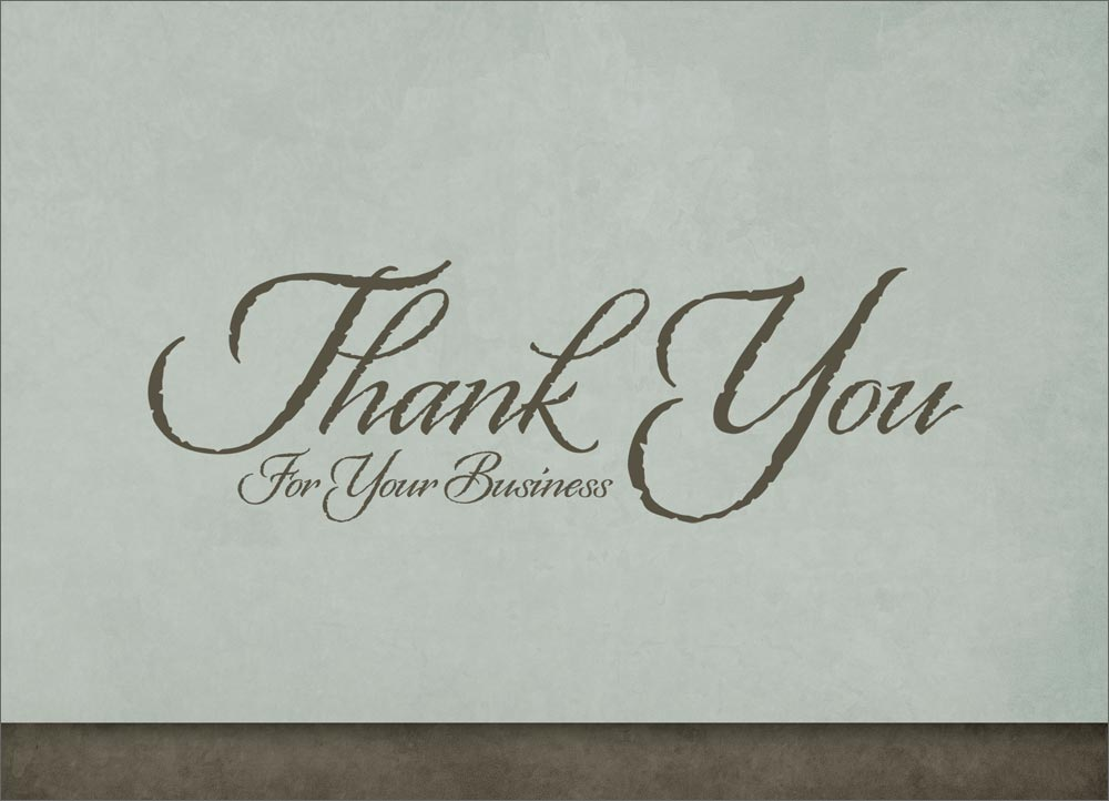 Business Thank You Card - chaosko.tk