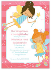 Fairy Princess Invitation