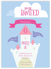 Castle Birthday Invitation