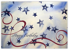 Star Spangled Birthday